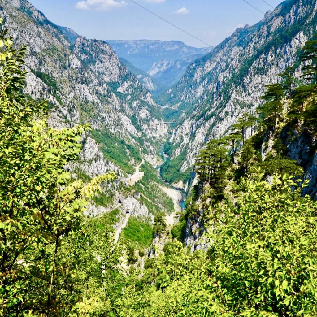 11 Super lost in Piva Canyon Our Via Dinarica Trail Itinerary   How We Backpacked the VDT