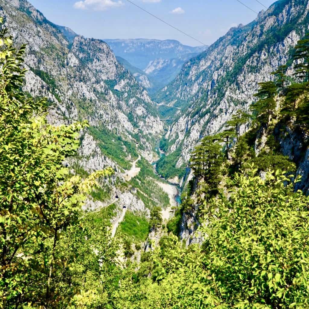 Piva Canyon Via Dinarica Trail Itinerary