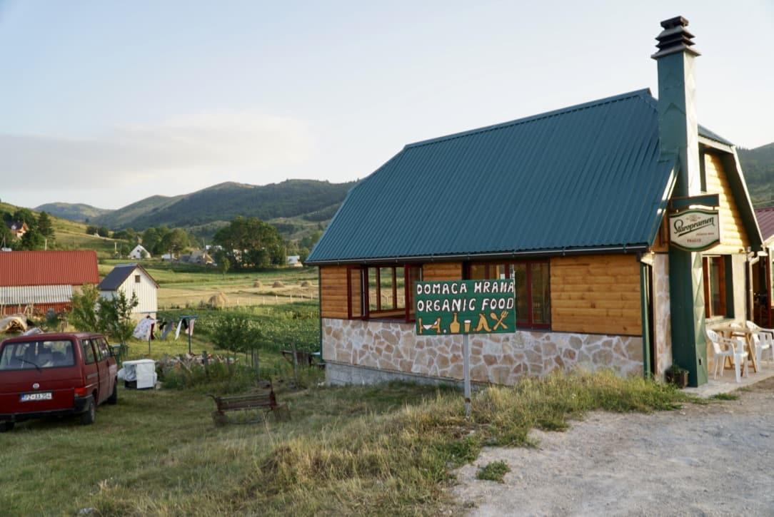 Guest House Nedajno Via Dinarica Trail Itinerary