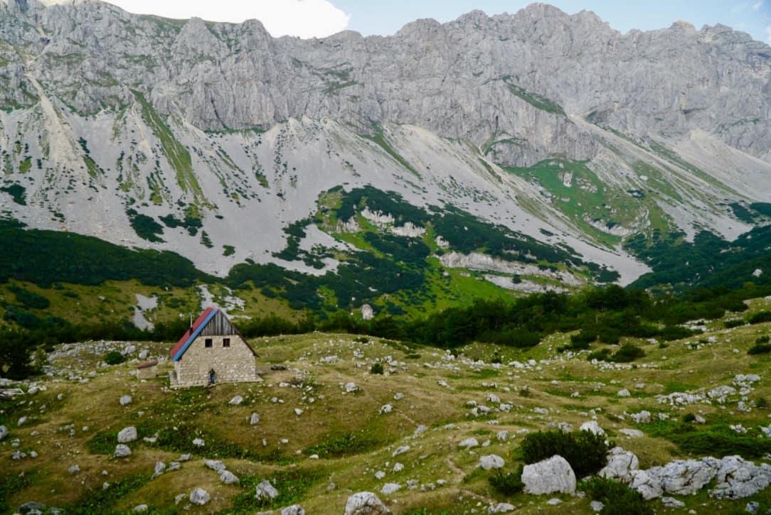 Planinarski Dom Mountain Hut Via Dinarica Trail Itinerary