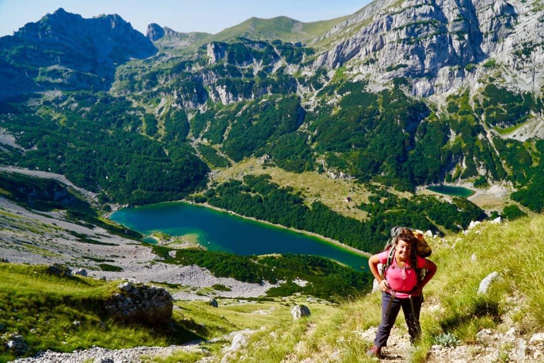 Mt. Planinica Via Dinarica Trail Itinerary