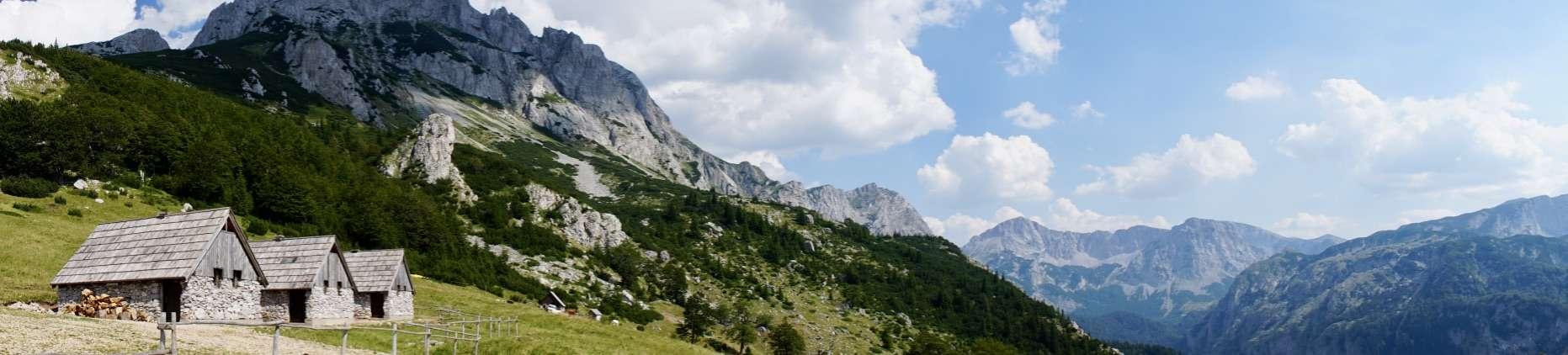 Prijevor Huts Via Dinarica Trail Itinerary