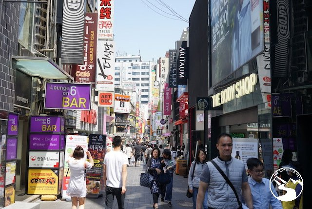 Myeongdong Two Days in Seoul South Korea