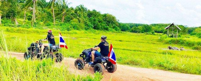 ATV Tour Koh Yao Yai Island Thailand