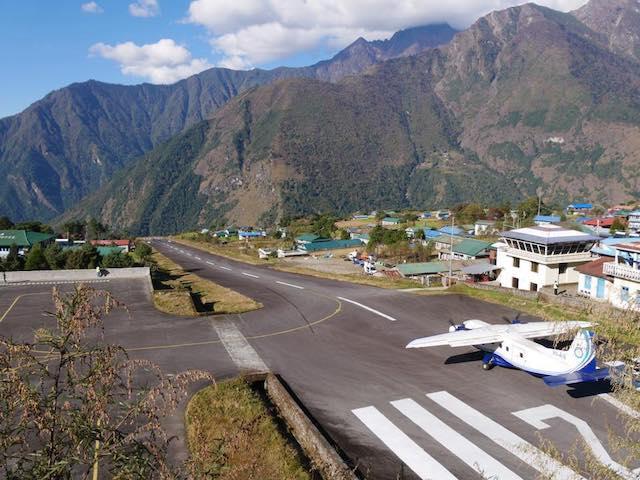 Nepal Trekking Holiday Lukla Airport
