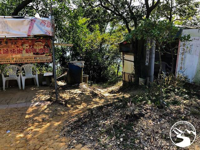 a hut in the jungle