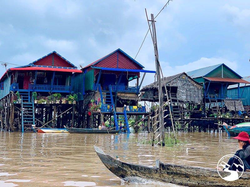Boat Ride on the Preaek Tuek Chhu River, Kampot