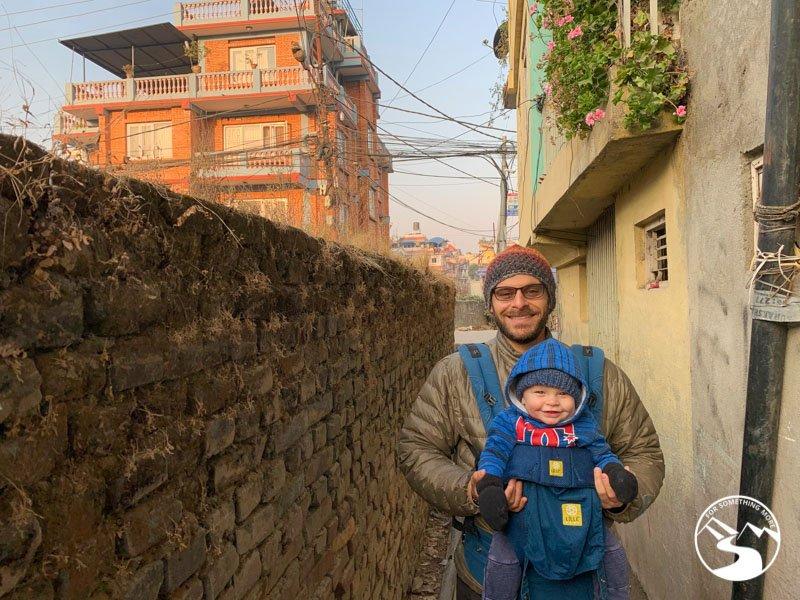 Kathmandu in the early morning