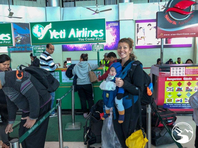 Yeti Airlines in Kathmandu