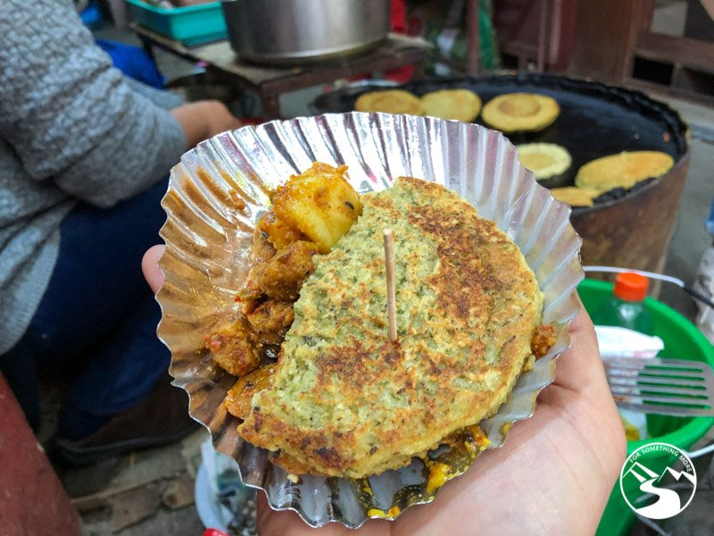 bara is a classic Nepal street food