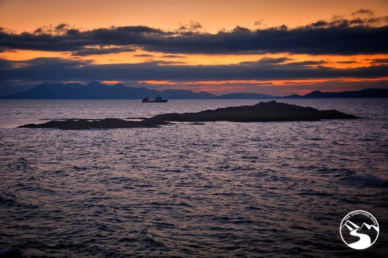 Sunset at Mallaig off the beaten path Scotland