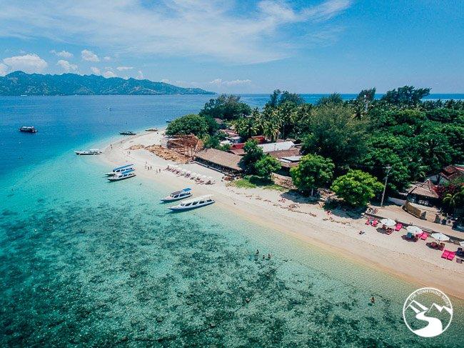 Gili Island Bali Trawangan's Coastline