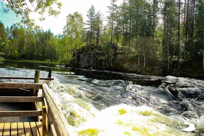 The waterfall next to Myllykoski
