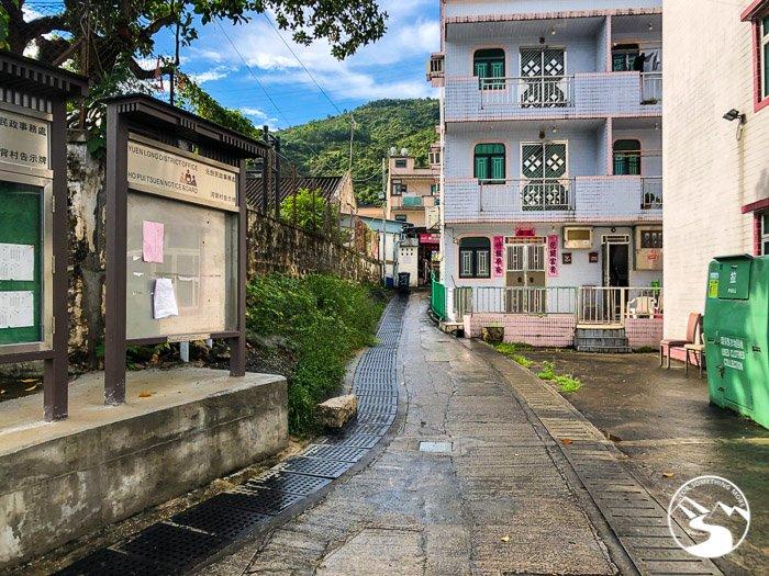 The start of Ho Pui Reservoir Family Walk