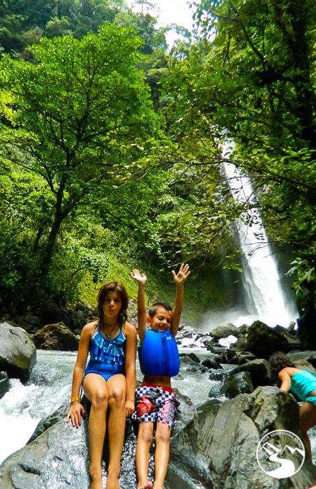 la fortuna waterfalls on a Road Trip Costa Rica