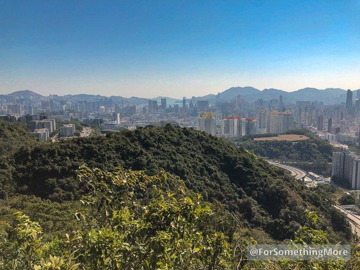 panorama of Kowloon